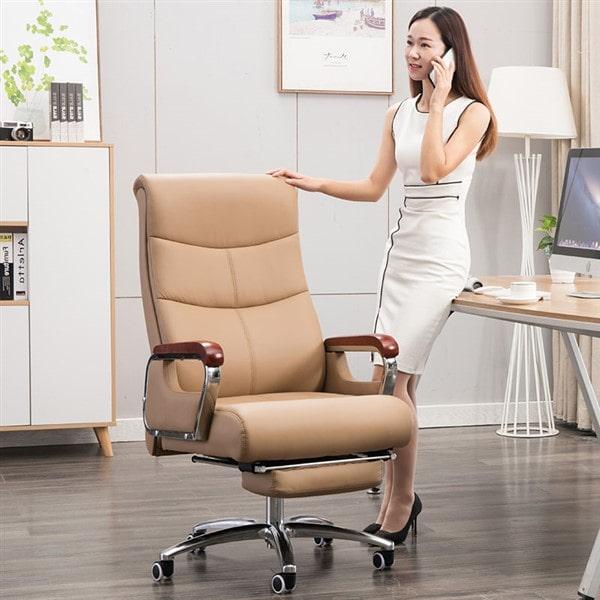 Sự sang trọng và đẳng cấp của ghế xoay văn phòng mang lại