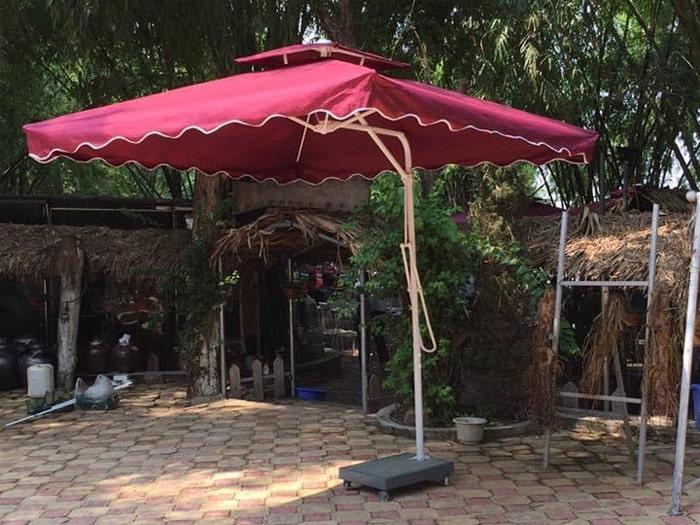 Top 1 những ưu điểm của dù che sân vườn - trihovuongkhi.com